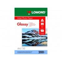 Глянцевий фотопапір lomond для струменевого друку A4, 200 Г/М2, 50Ар, односторонній (0102020)