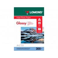 Глянцевая фотобумага lomond для струйной печати A4, 200 Г/М2, 25Л односторонняя (0102046)