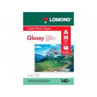 Глянцевая фотобумага lomond для струйной печати A4, 140 Г/М2, 50Л односторонняя (0102054)