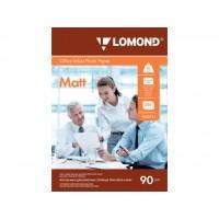 Матовая фотобумага lomond для струйной печати A4, 90 Г/М2, 500Л односторонняя (0102131)