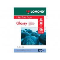Глянцевая фотобумага lomond для струйной печати A4, 170 Г/М2, 50Л односторонняя (0102142)