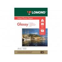 Глянцевая фотобумага lomond для струйной печати A4, 85 Г/М2, 100Л односторонняя (0102145)