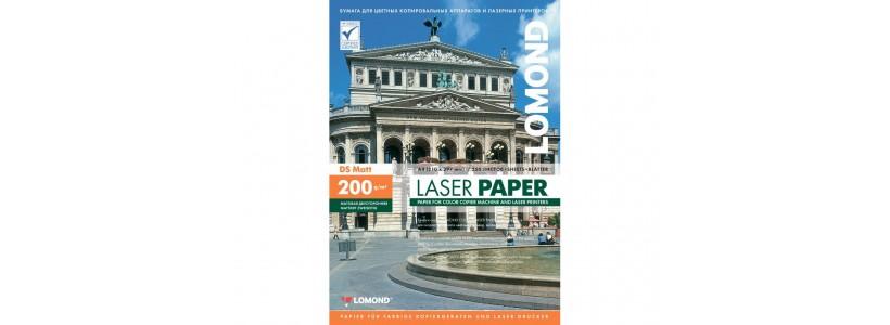Фотопапір lomond A4, 200 Г/М2, 250Ар (0300341) Двосторонній матовий/матовий для лазерного друку