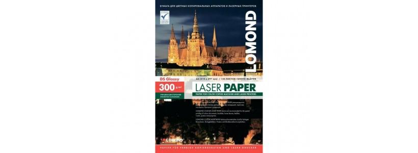 Фотопапір lomond A3, 300 Г/М2, 150Ар (0310733) Двосторонній глянцевий/глянцевий для лазерного друку