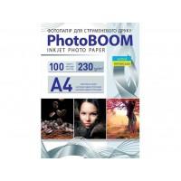Матовий фотопапір Photoboom для струменевого друку A4, 230 Г/М2, 100Ар, односторонній (M1045)