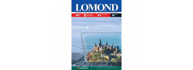 Плівка для друку на принтері  lomond A3, 100 мкм, 50Ар (0708315)