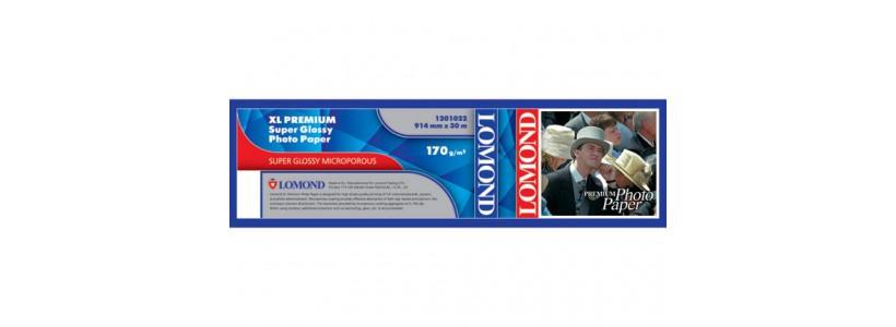 Суперглянцевий папір для плоттера LOMOND XL CAD, 200 Г/М2, 914мм (1201022)