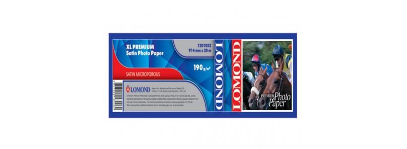 Глянцевая бумага для плоттера LOMOND XL CAD, 190 Г/М2,  914мм(1201052)