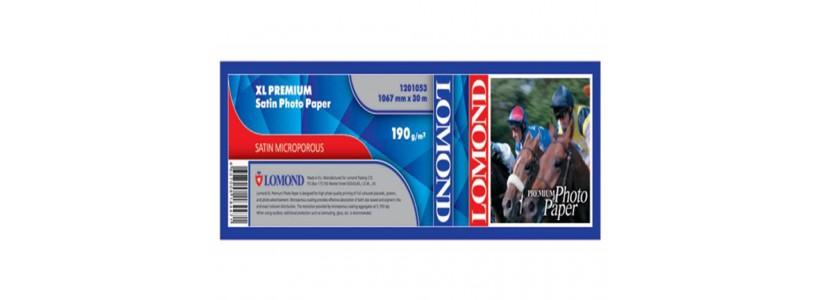 Глянцевая бумага для плоттера LOMOND XL CAD, 190 Г/М2,  1067мм(1201053)