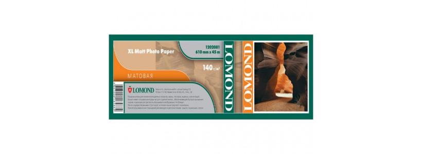 Матовий папір для плоттера LOMOND XL CAD, 140 Г/М2, 914мм (1202082)