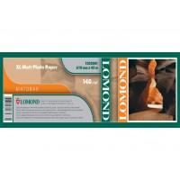 Матовая широкоформатная lomond 140г/м2, 1067ммх30м (1202083)