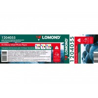 Глянцевая широкоформатная lomond 170г/м2, 914ммх30м (1204055)