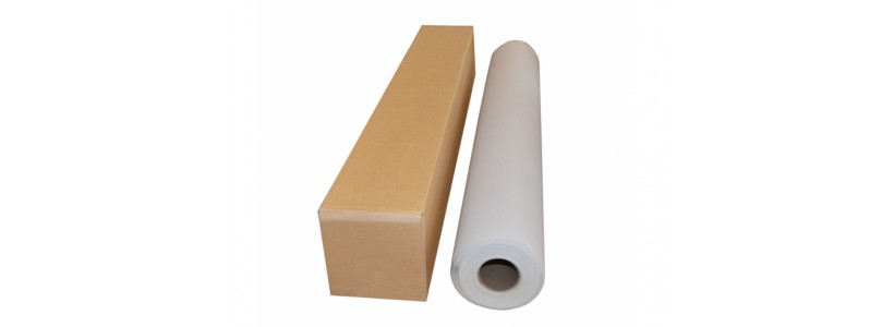 Белый холст для печати хлопковый, матовый, 610ммх18м, 370г/м2 (WPJ-370CAM-610)
