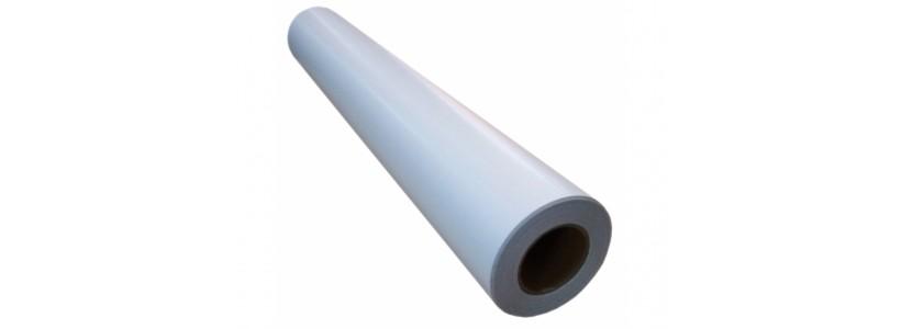 Глянцевая плёнка для холодного ламинирования 1270ммх50м, 140г/м2, (LAM-140G-1270)