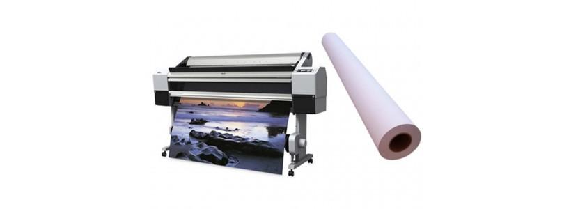 Самоклеящаяся  бумага 130г/м2, 1070ммх30м, матовая (WP-120MNL-1070)