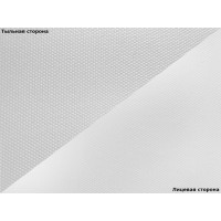 Белый хлопковый холст 370г/м2, 610х18м, матовый (WPJ-370CAM-610)