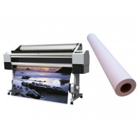 Самоклеючий папір прозорий 80мкм, 1270ммх50м, глянцевий (TTK08120G-1270)